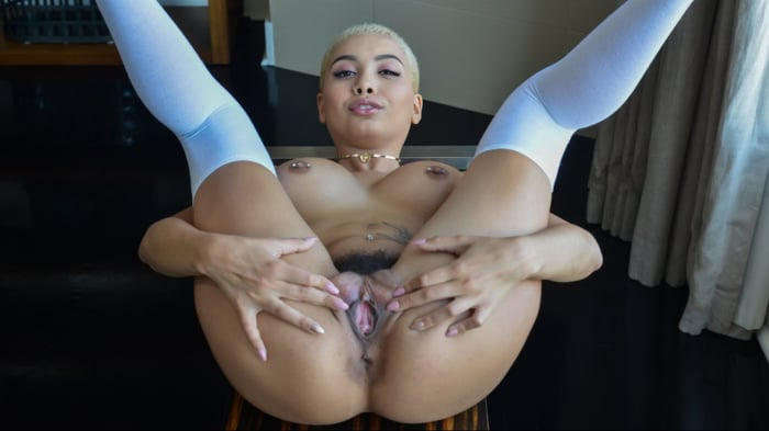 Aaliyah Hadid in My Balls In Your Yard