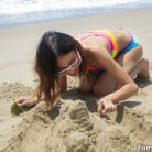 Jasmine Grey - Petite Beach Babe Gets Boned | Picture (18)